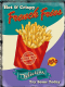 French Fries large metal sign  400mm x 300mm   (og)